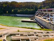 Fischwanderhilfen am Kraftwerk Schwabeck in Kärnten.