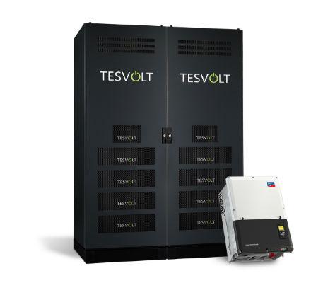 Hochvolt-Lithiumspeichersystem von Tesvolt.