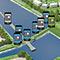 Breda: QR-Codes informieren über Folgen des Klimawandels.