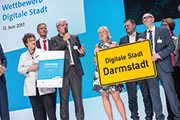 Darmstadt gewinnt Wettbewerb Digitale Stadt.