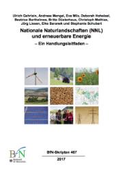 Nationale Naturlandschaften (NNL) und erneuerbare Energie - Ein Handlungsleitfaden.