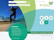 Übersichtlich und benutzerorientiert ist die neue Website der Stadt Buchholz in der Nordheide.