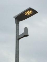 Die neue Straßenbeleuchtungsanlage in Scharenhop wurde in Betrieb genommen.