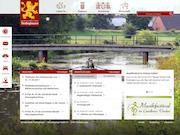 Übersichtlich und modern: Die Samtgemeinde Thedinghausen hat ihre Website relauncht.