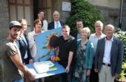 Naturstrom hat sein 300. Öko-Kraftwerk, eine Photovoltaikanlage mit Speicher auf dem Kreiskirchenamt Hattingen-Witten, feierlich eingeweiht.