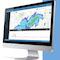 Der HydroMaster empfängt Echtzeit-Radardaten und zeigt Niederschlagsbeobachtungen und -prognosen in hoher räumlicher und zeitlicher Auflösung.