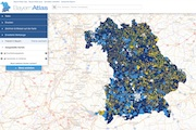 In Bayern befinden sich mittlerweile fast alle Kommunen im Förderverfahren für den Breitband-Ausbau.
