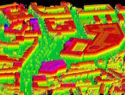 Ganz Niedersachsen – hier die Stadt Braunschweig – steht jetzt als dreidimensionaler Datensatz zur Verfügung.