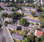Mieterstromprojekt von Mainova in Frankfurt am Main.
