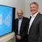 Wollen beim Digitalen Aufbruch in Gütersloh die ganze Stadtgesellschaft einbeziehen: Bürgermeister Henning Schulz (rechts) und sein Büroleiter Rainer Spies.