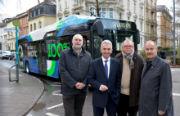 Frankfurt hat die ersten fünf E-Busse bestellt.
