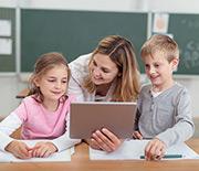 Eine Herausforderung: Schul-Tablets effizient verwalten.