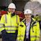 Anlieferung der BHKW für das neue Heizkraftwerk der Stadtwerke Bochum.