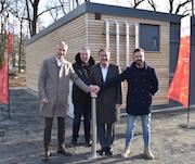 Die Stadtwerke Hanau haben ein neues Biomasse-Heizwerk in Betrieb genommen.
