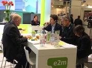 e2m-Pressegespräch auf der Biogas Convention.