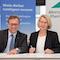 Metropolregionen Rhein-Neckar und Hamburg unterzeichnen Kooperationsvereinbarung.