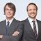 Die Geschäftsführer des Unternehmens Axians Infoma Oliver Couvigny (l.) und Daniel Riss.