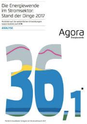 In einer Studie zum Stand der Dinge bei der Energiewende zieht die Denkfabrik Agora eine gemischte Bilanz für das Jahr 2017.