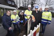 Der Breitband-Ausbau im Kreis Osnabrück hat begonnen.