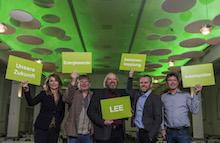 Vorstand des neu gegründeten Landesverbands Erneuerbare Energien Schleswig-Holstein.