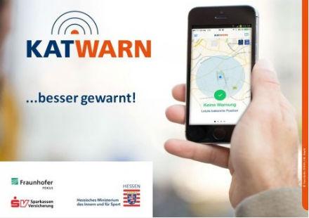 Hessen wirbt für das Warn- und Informationssystem KATWARN.