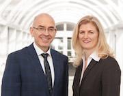 Der neue AKDB-Vorstand: Rudolf Schleyer und Gudrun Aschenbrenner.