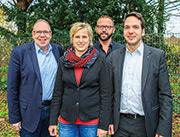 Leitungsteam im Amt für Soziale Integration der Stadt Hamm.
