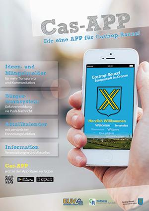 So bewirbt Castrop-Rauxel seine App.
