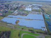 Trianel realisiert für Tochtergesellschaft der Stadtwerke Halle PV-Freiflächenanlage im brandenburgischen Wiesenburg.