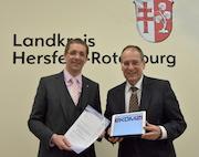 Kreis Hersfeld-Rotenburg und ekom21 vereinbaren enge Zusammenarbeit.