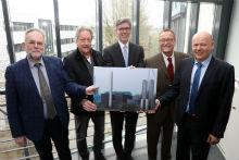 So wird das neue Aachener Blockheizkraftwerk aussehen.