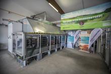 Die Haßfurter Power-to-Gas-Anlage hat seit Oktober 2016 etwa eine Million Kilowattstunden Wasserstoff erzeugt.