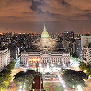 Straßenlaternen liefern in Buenos Aires Informationen in Echtzeit.