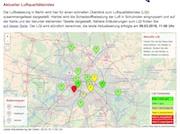 Über die Luftqualität an unterschiedlichen Standorten in Berlin informiert ein neu eingerichtetes Web-Portal.