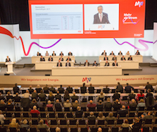 Die Aktionäre auf der diesjährigen Hauptversammlung des börsennotierten Mannheimer Unternehmens MVV folgten der Dividenden-Empfehlung von Vorstand und Aufsichtsrat.