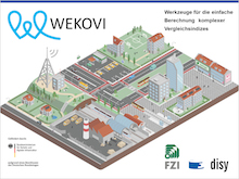 Wie sich aus offenen Geodaten der öffentlichen Verwaltung Mehrwerte schaffen lassen, untersucht das Projekt WEKOVI.