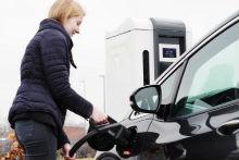 Ultra-Schnellladestation von Enercon: Mit dem E-Charger 600 können Elektroautos in wenigen Minuten geladen werden.