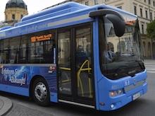 In der bayerischen Landeshauptstadt München soll der Busverkehr in Zukunft zu 100 Prozent elektrisch betrieben werden.