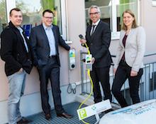 Der regionale Energieanbieter GGEW und die Wirtschaftsförderung Bergstraße setzen sich für Elektromobilität ein.