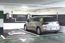 Die Stadtwerke bauen ihre Lade-Infrastruktur kontinuierlich aus. Die jüngste Station befindet sich im LAGO Shopping-Center Konstanz.