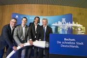 Bochum startet als erste deutsche Großstadt ins Gigabit-Zeitalter.