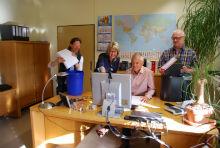 Administrationsteam im HLBG treibt DMS-Einführung der Hessischen Verwaltung für Bodenmanagement und Geoinformation (HVBG) voran.