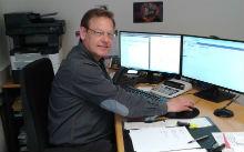 Torsten Meier vom Standort Lübbecke arbeitet seit Dezember 2017 mit der digitalen Sozialakte.