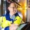 Torsten Hammerschmidt von innogy sorgt im Projekt Smart Country in der Eifel für ein stabiles Stromnetz.