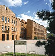 Das Kreishaus Viersen war Testobjekt für den CAD-Datenimport.