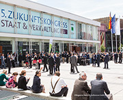 Zukunftskongress diskutiert die Digitalisierung der Verwaltung.