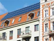 In Berlin entfällt knapp die Hälfte des Solarpotenzials auf Wohngebäude.