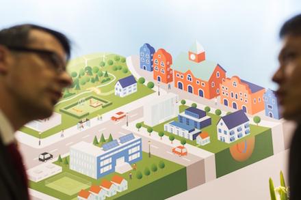Auf der Smart City Solutions der Intergeo treffen Lösungsanbieter und kommunale Anwender aufeinander.