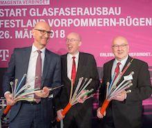 Kreis Vorpommern-Rügen: Wer Glasfaser bekommt, hat gut lachen.