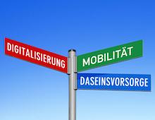 In einer Umfrage hat der Deutsche Landkreistag unter anderem den Stand der Digitalisierung in den Landkreisen ermittelt.